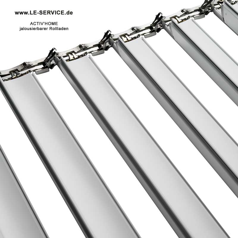 Bubendorff jalousierbarer Rollladen Activ Home® Sonnenschutz + Belüftung