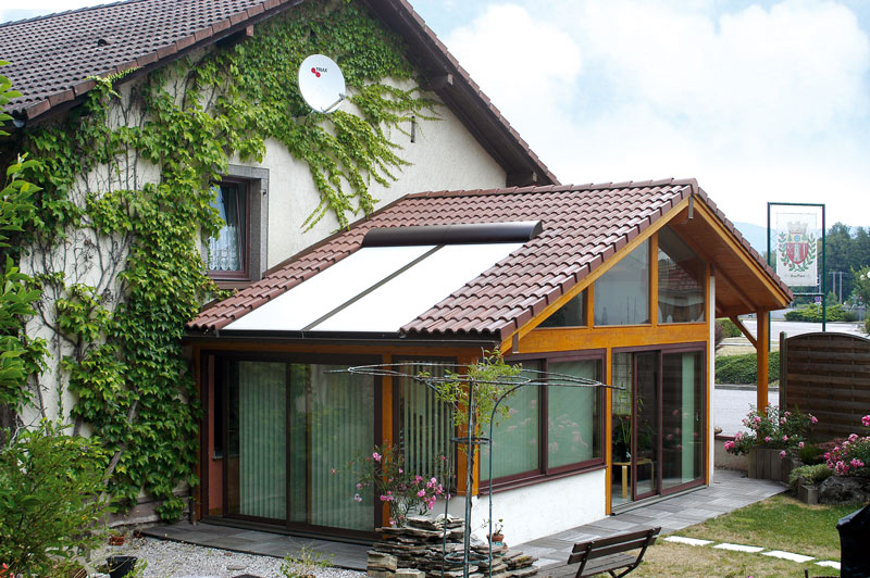 Wintergartenbeschattung Typ ROLAX® - Bubendorff Wintergartenrollladen