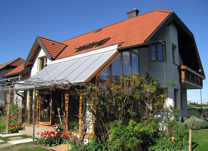 SCHANZ Wintergarten-Rollladen Wiga Star