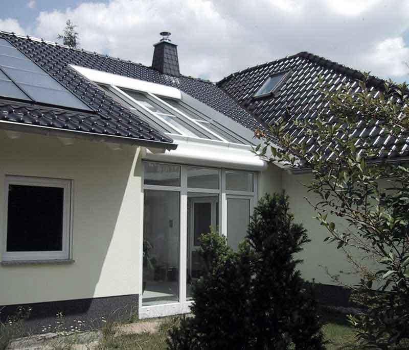 Abbildung 1 für Wintergartenbeschattung Typ ROLAX® - Bubendorff Wintergartenrollladen