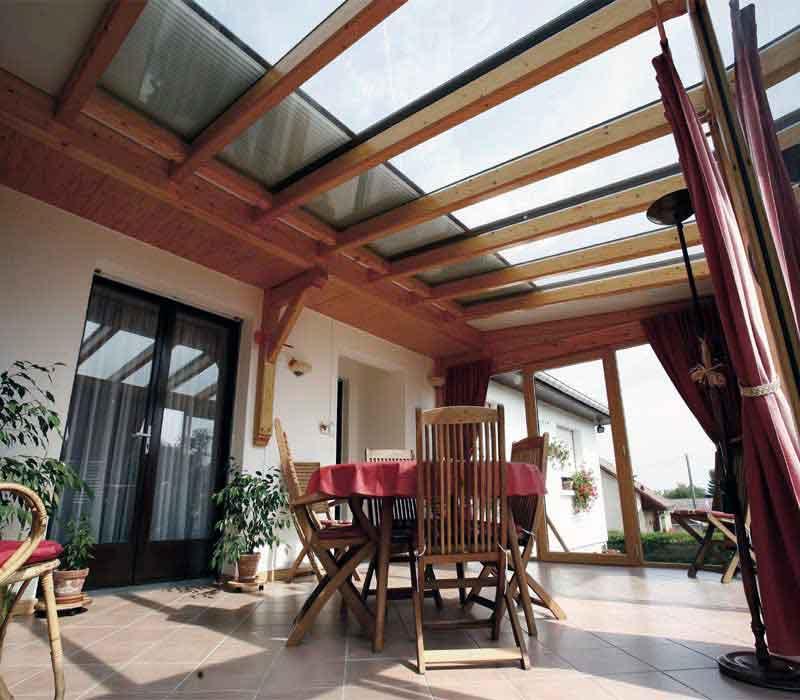Abbildung 2 für Wintergartenbeschattung Typ ROLAX® - Bubendorff Wintergartenrollladen