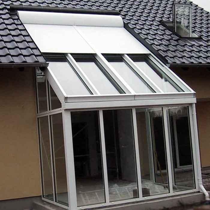 Abbildung 4 für Wintergartenbeschattung Typ ROLAX® - Bubendorff Wintergartenrollladen