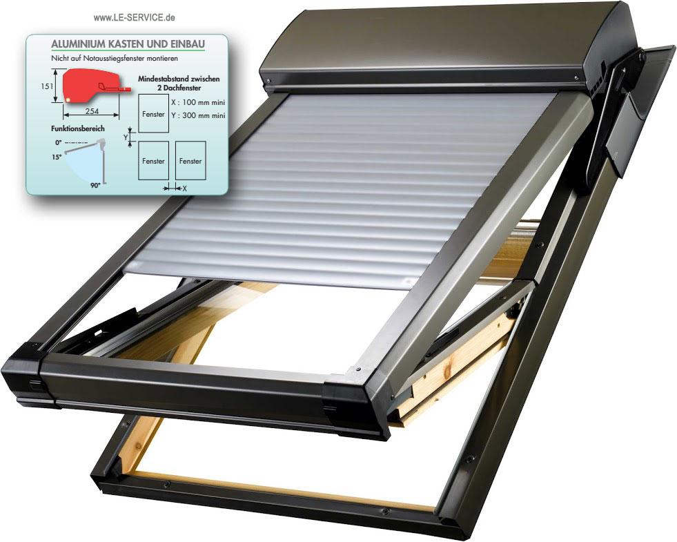 Abbildung 1 für Bubendorff Dachfensterrollladen für VELUX® - ATIX® neues Modell