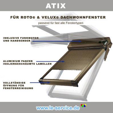 Abbildung 5 für Bubendorff Dachfensterrollladen für VELUX® - ATIX® neues Modell