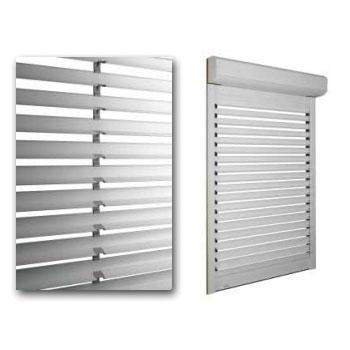 Abbildung 2 für Bubendorff jalousierbarer Rollladen Activ Home® Sonnenschutz + Belüftung