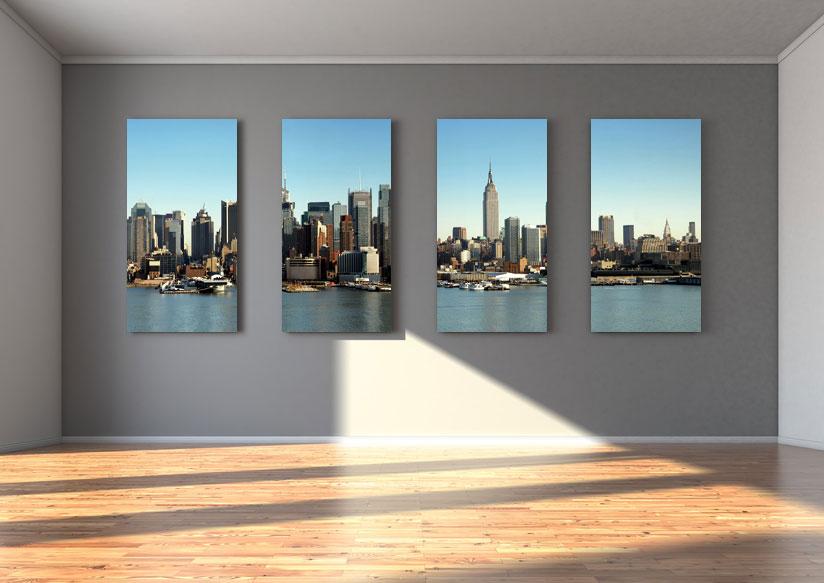 Foto-Leinwand bedruckt mit einem Wunschmotiv oder Firmenlogo