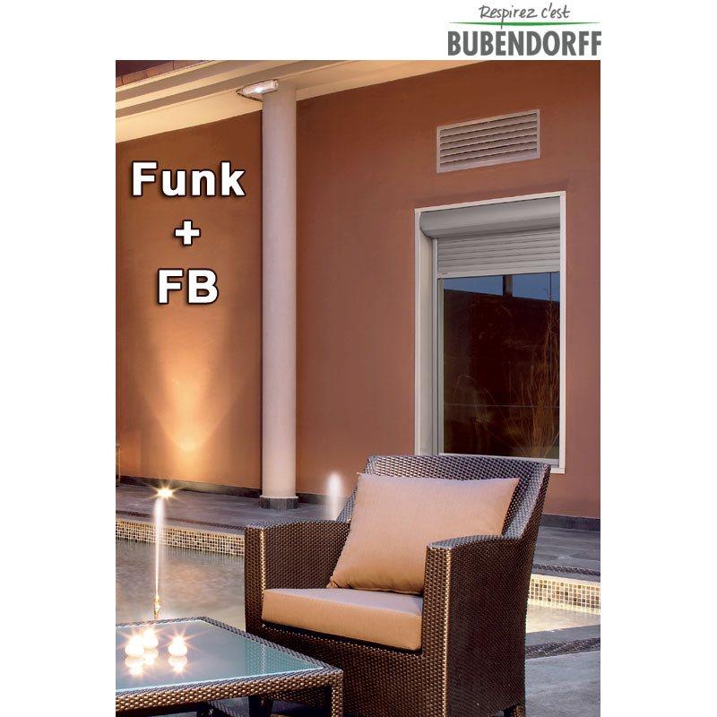 Abbildung 5 für Bubendorff ID2 Vorbaurollladen Funk FB Alu Rollladen Kasten 2x20