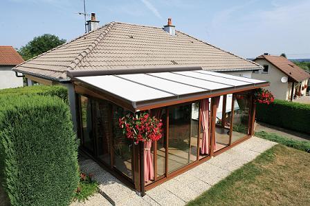 Abbildung:  Bubendorff Wintergarten-Rollladen ROLAX® 4500x3500