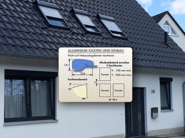 Abbildung 3 für Dachfensterrollladen ATIX® SOLAR für ROTO® Dachfenster inkl. Solarpaket