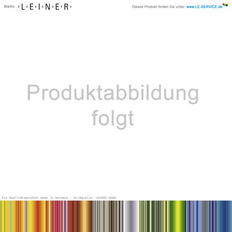 Abbildung:  LEINER ARCO 150 SF® - Senkrechtmarkise mit Führungsschienen - Halbrund