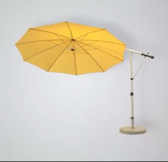 MAY Freiarmschirm MEZZO MH - Sonnenschirm - höhenverstellbar rechteckig