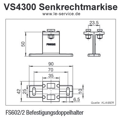 Abbildung 4 für KLAIBER VERTICAL-LIGHT VS4300-R und VS 4300-E