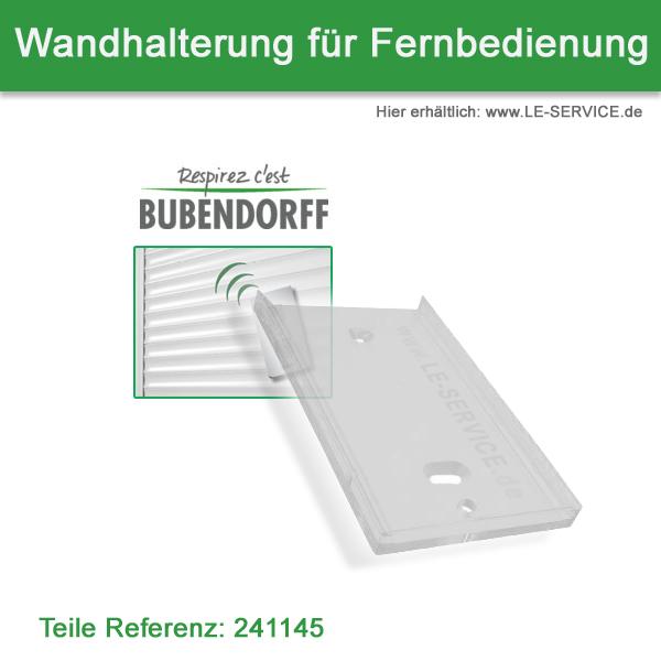 Wandhalter für Bubendorff Rollladen Fernbedienung - Ref 241145