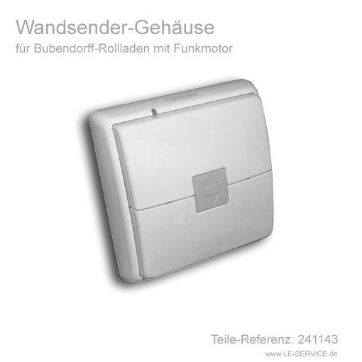 Wandsender-Gehäuse für Bubendorff Rollladen vor 2010 - Ref 241143