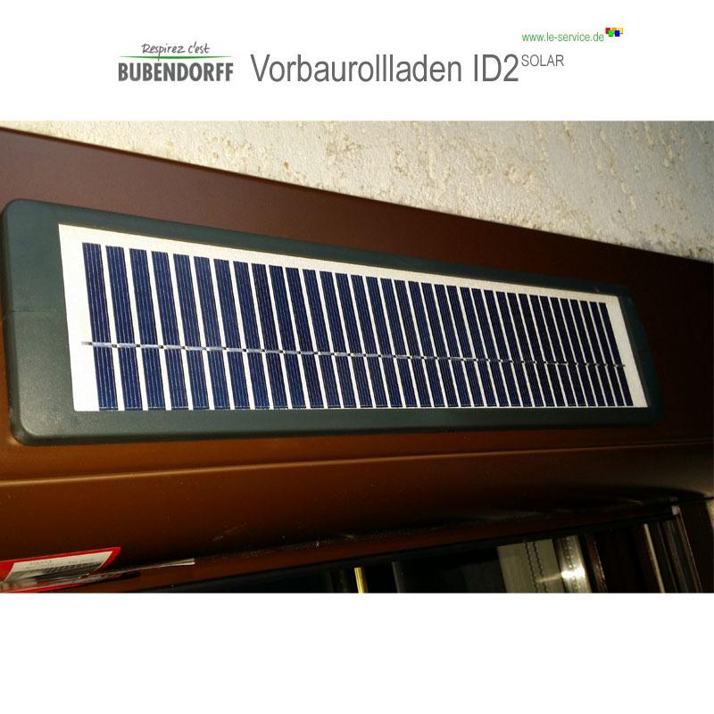 Abbildung 1 für Solarrollladen Bubendorff Vorbaurollladen ID2 SOLAR Funk Kasten 1x20