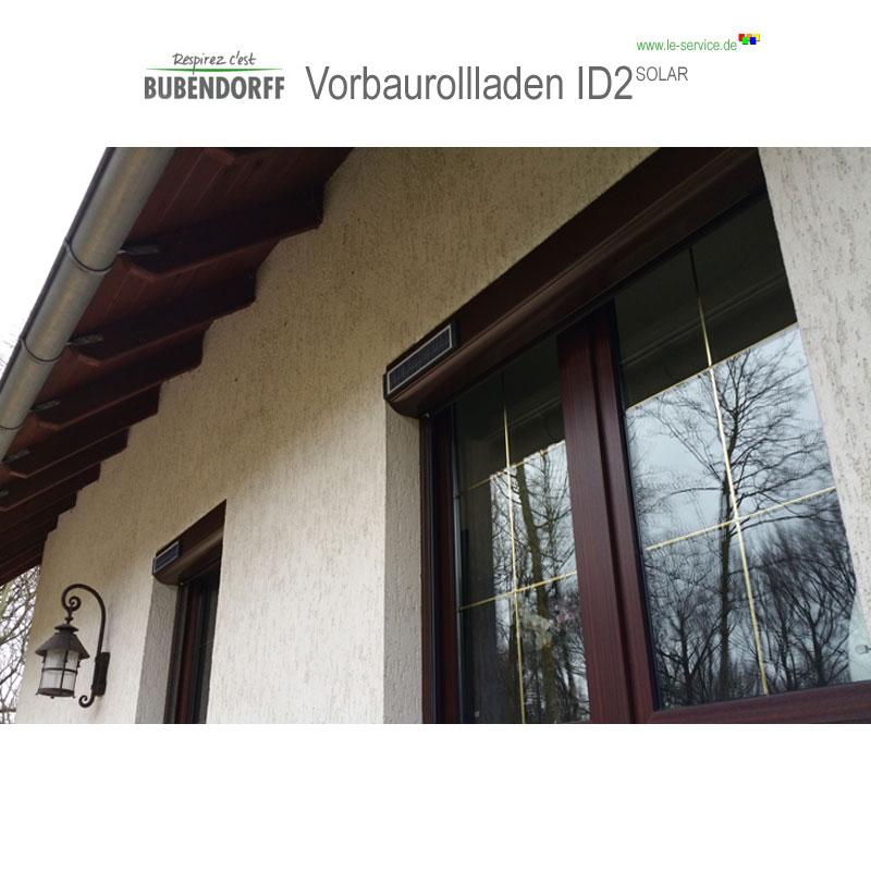 Abbildung 2 für Solarrollladen Bubendorff Vorbaurollladen ID2 SOLAR Funk Kasten 1x20