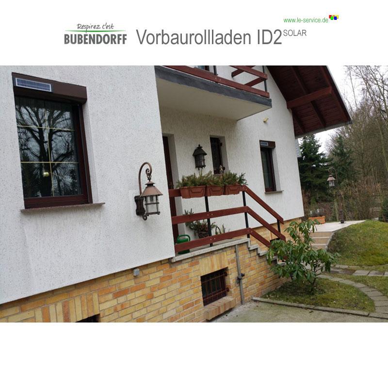 Abbildung 3 für Solarrollladen Bubendorff Vorbaurollladen ID2 SOLAR Funk Kasten 1x20