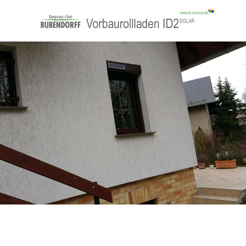 Abbildung 4 für Solarrollladen Bubendorff Vorbaurollladen ID2 SOLAR Funk Kasten 1x20