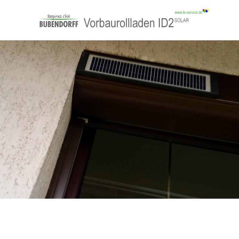 Abbildung 5 für Solarrollladen Bubendorff Vorbaurollladen ID2 SOLAR Funk Kasten 1x20
