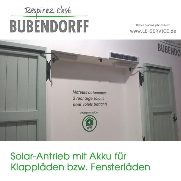 Fensterladenantrieb Solar mit Akku für Klappläden online kaufen bei le-service.de
