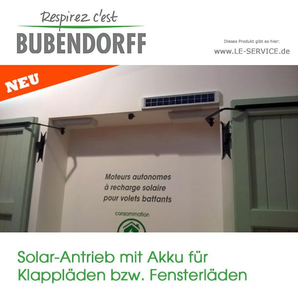 Abbildung 2 für Fensterladenantrieb Solar mit Akku für Klappläden