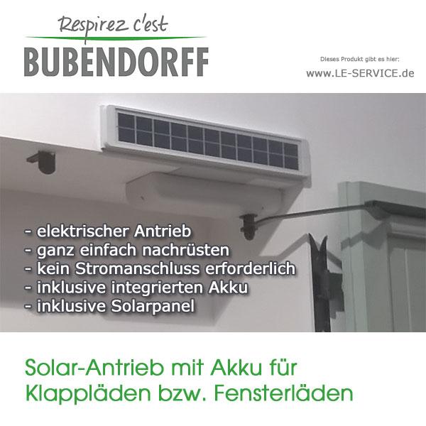 Abbildung 3 für Fensterladenantrieb Solar mit Akku für Klappläden