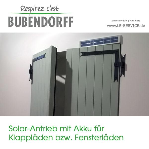 Abbildung 4 für Fensterladenantrieb Solar mit Akku für Klappläden