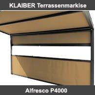 Klaiber Alfresco P4000 Terrassenmarkise
