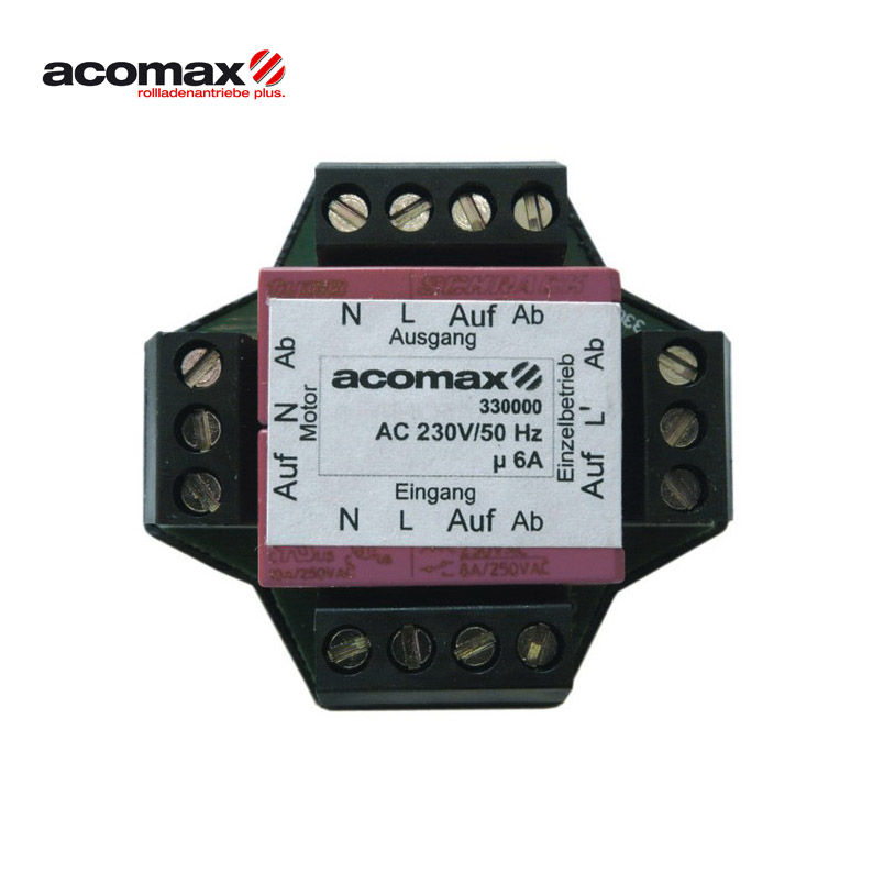 ACOMAX CX-210 Solo Mehrfachsteuergerät unter Putz