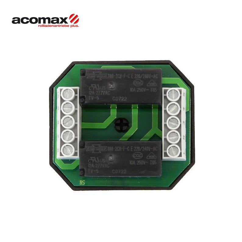 ACOMAX CX-220 Duo Trennrelais für 2 Antriebe unter Putz