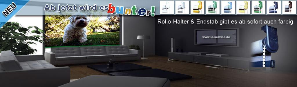 Fotorollo bedrucktes Rollo mit Wunschbild oder Logo als Foto-Aufdruck