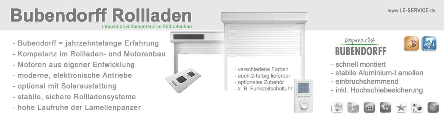 Favorit Bubendorff Rollladen elektrische Vorbaurollladen auch mit Solar AM34