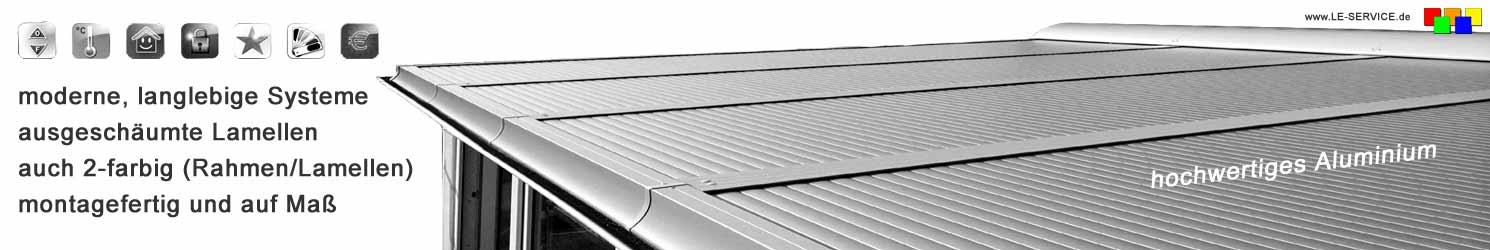 Wintergarten-Rolladen | Rollladen aus Aluminium