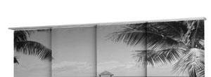Fotodruck - bedruckter Sichtschutz