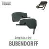 Kasten Seitenteile Bubendorff ATIX Dachfensterrollladen - Ref 238025 Seitenteile Halter rechts + li...